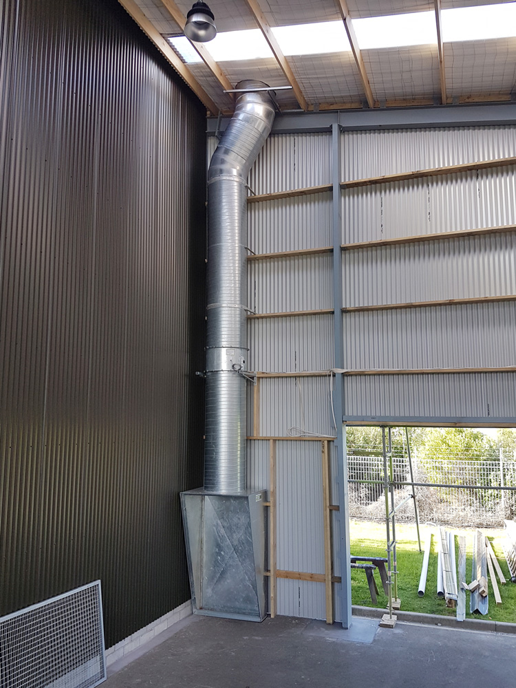 Comercial ventilation whangamata